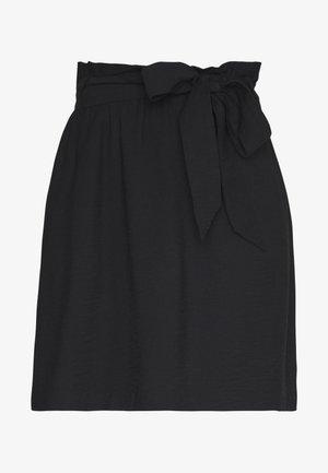 PCNYKKE SKIRT - Mini skirt - black