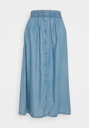 PCWHY - A-line skirt - light blue denim