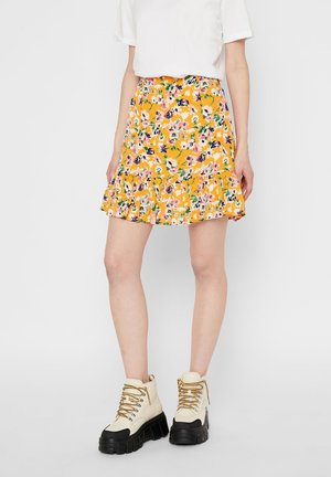PCAVIANNA SKIRT - A-line skirt - apricot