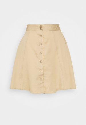 PCMARYLEE - A-line skirt - warm sand