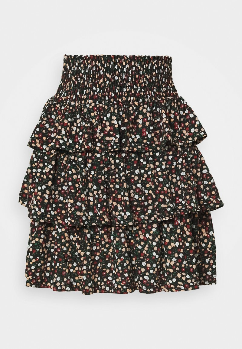 Pieces - PCAMELINE SKIRT - A-line skirt - black