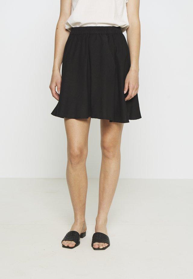 PCMANINA SKIRT - A-snit nederdel/ A-formede nederdele - black
