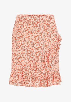 Falda cruzada - grenadine