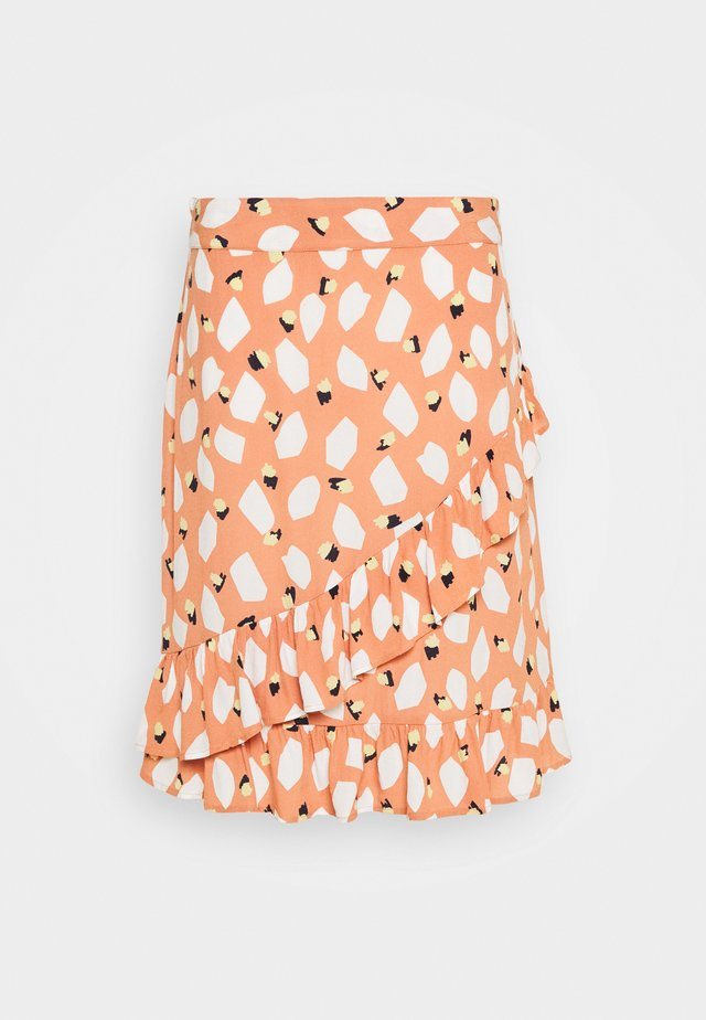 PCLAIA SKIRT - Minikjol - multi coloured