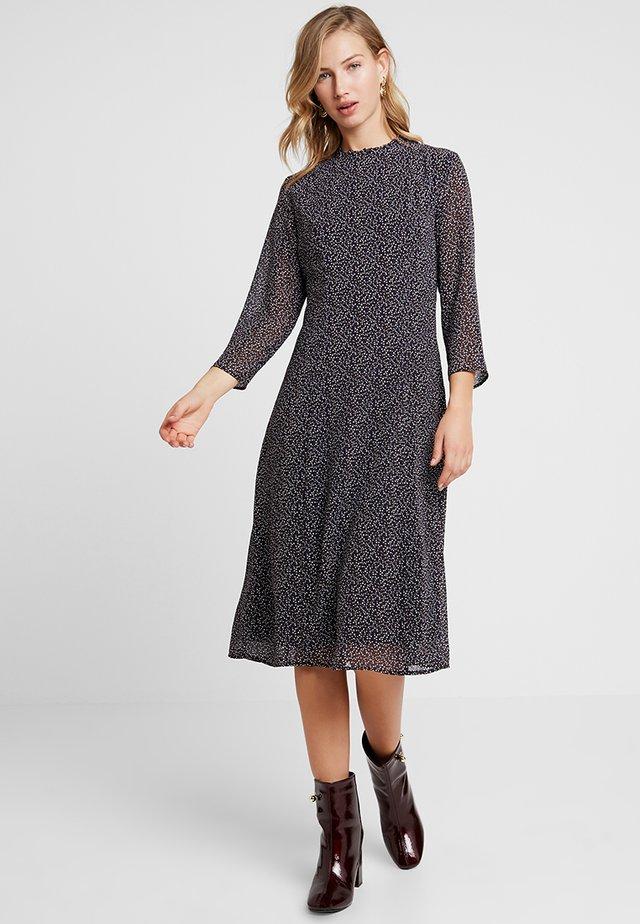 PCCELLA 3/4 MIDI DRESS - Day dress - navy