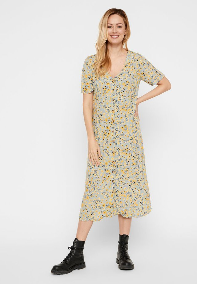 PCCOYA  - Korte jurk - slate