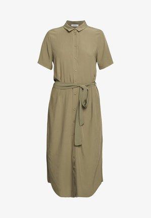 PCCECILIE  - Shirt dress - deep lichen green
