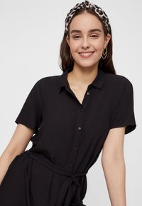 Pieces - PCCECILIE  - Blousejurk - black - 3