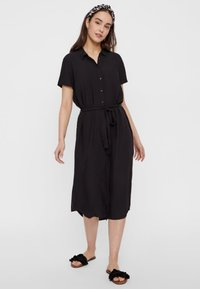 Pieces - PCCECILIE  - Blousejurk - black - 0