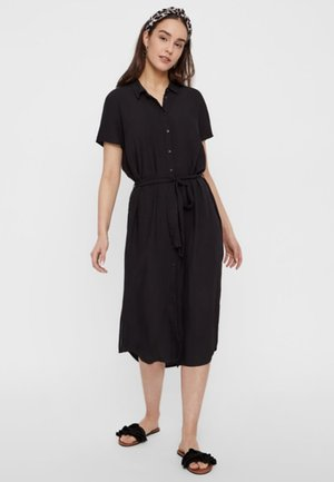 PCCECILIE DRESS - Shirt dress - black