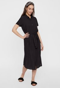 Pieces - PCCECILIE  - Blousejurk - black - 1