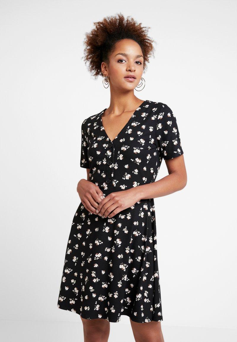 Pieces - PCLIJA DRESS - Jerseykleid - black