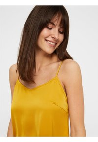 Pieces - Maxiklänning - yellow - 4