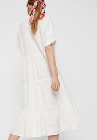 Pieces - CASUAL FIT - Vestido largo - bright white - 3