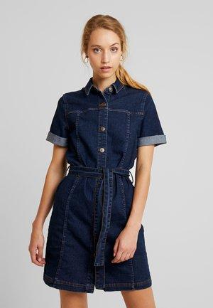 PCHILL DRESS - Jersey dress - dark blue denim
