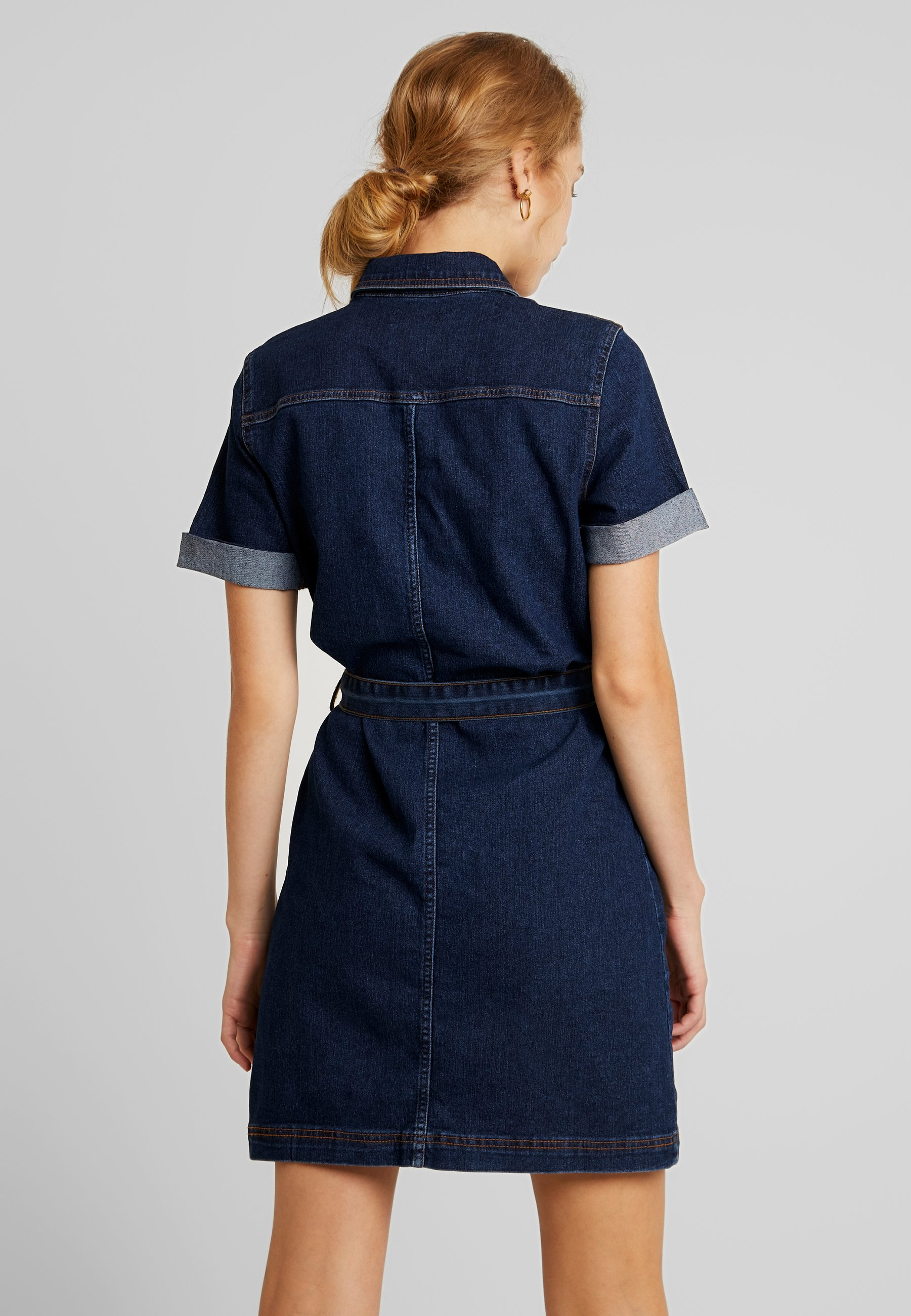Dark Denim Pchill Blue En Pieces DressRobe Jersey H2ED9IWY