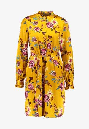 Sukienka letnia - mustard gold