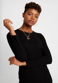 Pieces - Day dress - black - 4