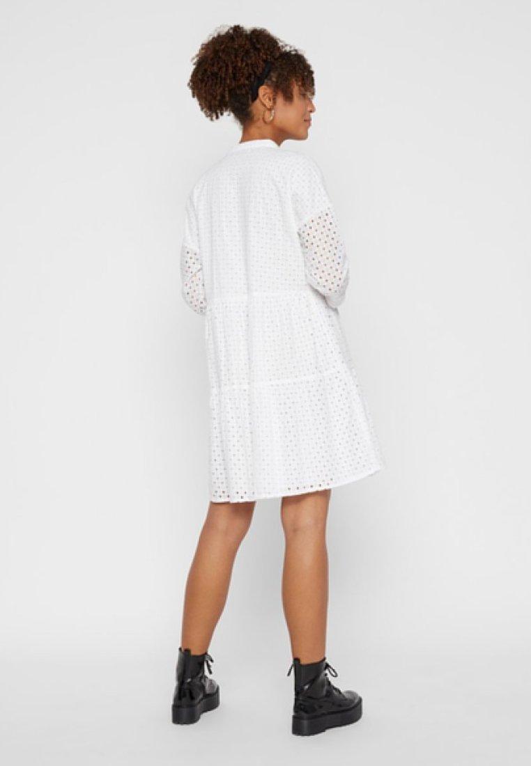 Pieces Vestito estivo - avorio bright white
