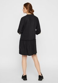 Pieces - Blousejurk - black - 2