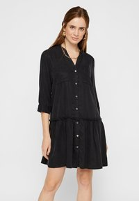 Pieces - Blousejurk - black - 0