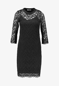 Pieces - PCJORDAN DRESS - Cocktailklänning - black - 4