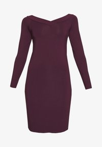 Pieces - PCMALIVA DRESS - Etuikleid - winetasting