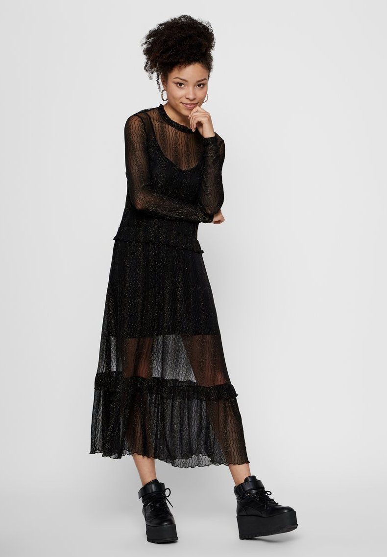 Pieces - Day dress - black