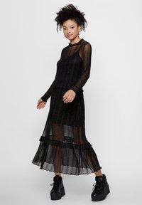Pieces - Day dress - black - 1