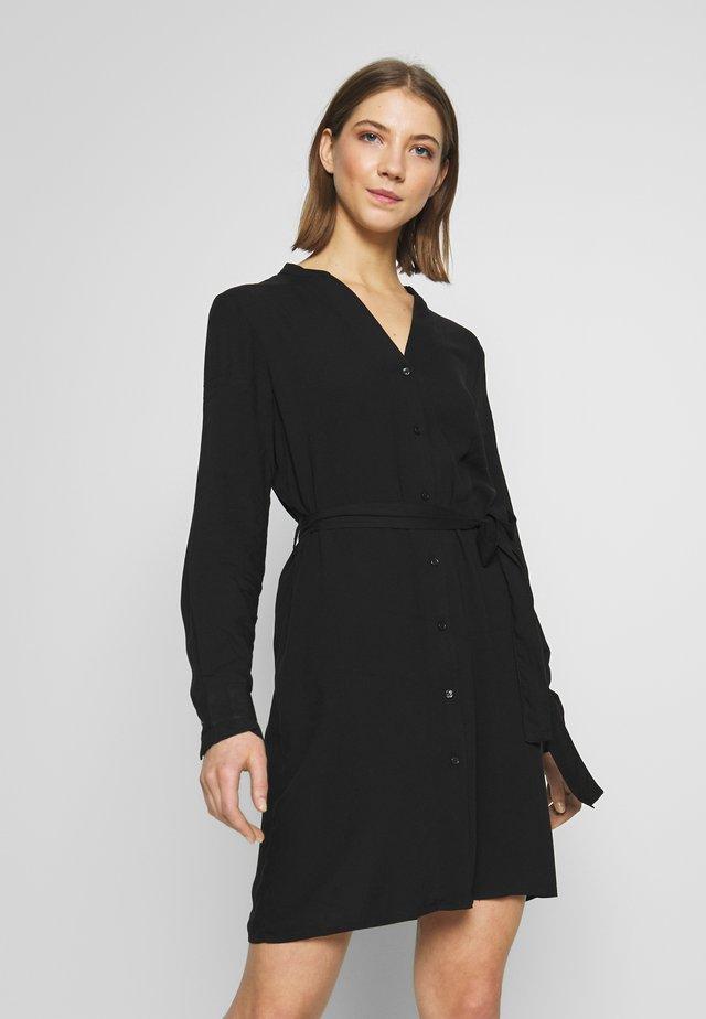 PCBONNIEN LONG SHIRT  - Shirt dress - black