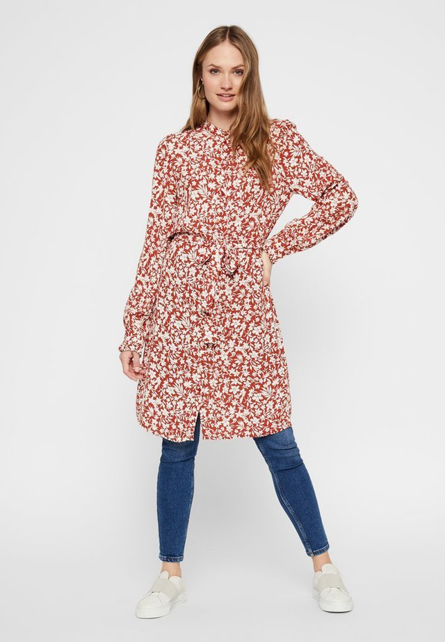 Shirt dress - picante