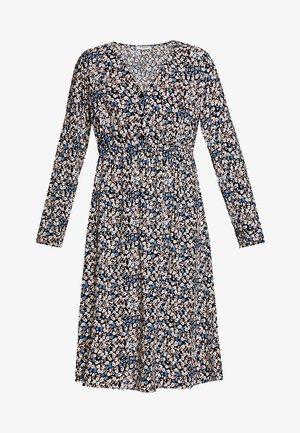 Korte jurk - black/blue