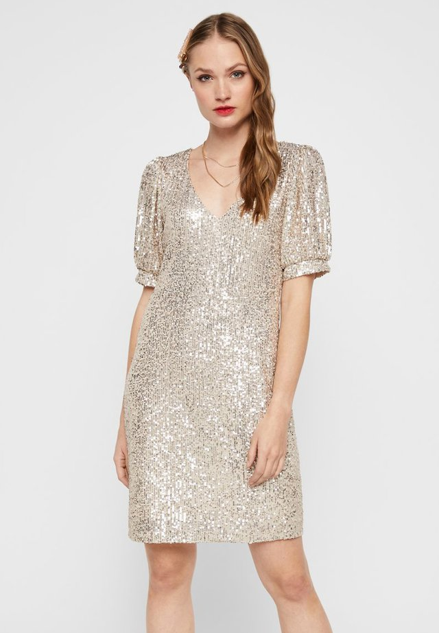 Cocktail dress / Party dress - whitecap grey