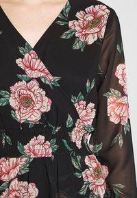 Pieces - PCFLOWI  DRESS - Kjole - black - 4