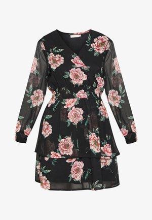 PCFLOWI  DRESS - Korte jurk - black