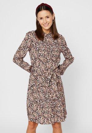 Sukienka koszulowa - taupe