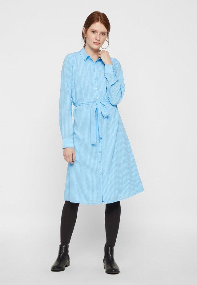 Shirt dress - alaskan blue
