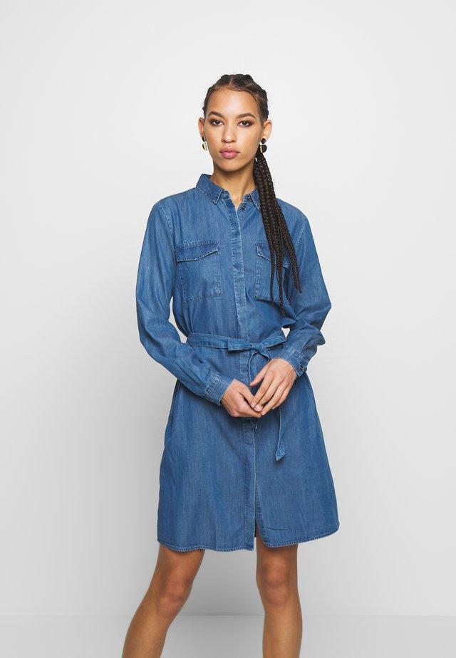 PCNISSA  - Vestito di jeans - dark blue denim