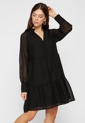 GESMOKTES  - Robe d'été - black