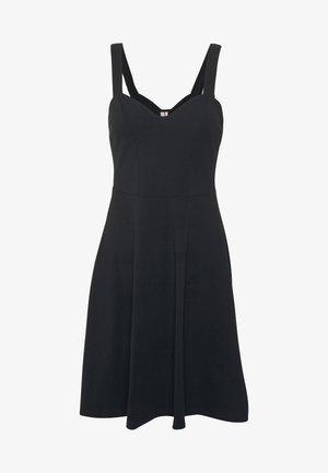 PCANG STRAP DRESS  - Trikoomekko - black