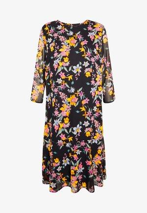 PCNANNA TIEBELT DRESS - Robe d'été - black