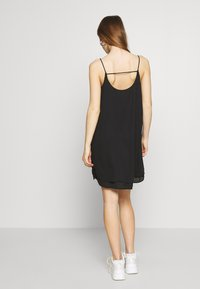 Pieces - PCBODIL SLIP DRESS NOOS BC - Day dress - black - 2