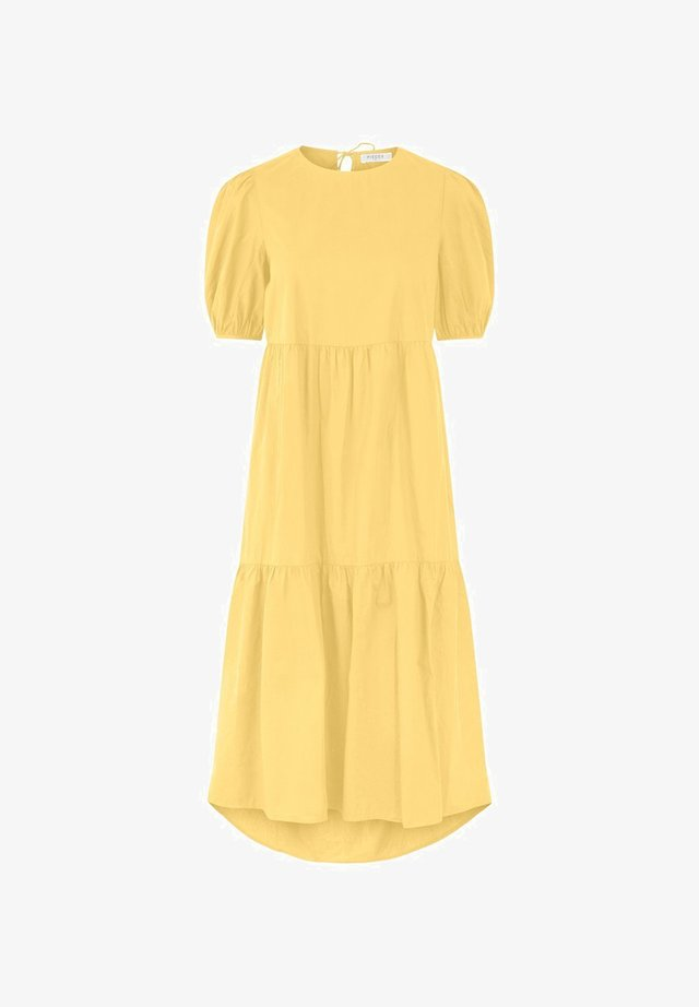 PCMELIA MIDI DRESS - Vestido informal - popcorn
