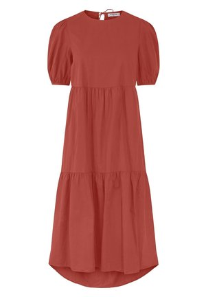 PCMELIA MIDI DRESS - Day dress - chili oil