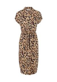 Pieces - Shirt dress - light brown - 0