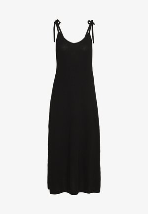 PCNEORA ANKLE DRESS - Maxi-jurk - black
