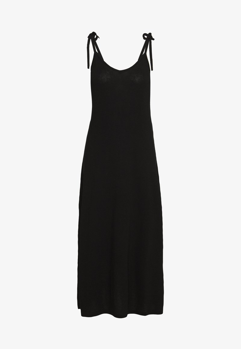 Pieces - PCNEORA ANKLE DRESS - Maxi-jurk - black
