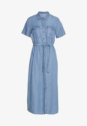 PCNOLA  - Shirt dress - light blue denim