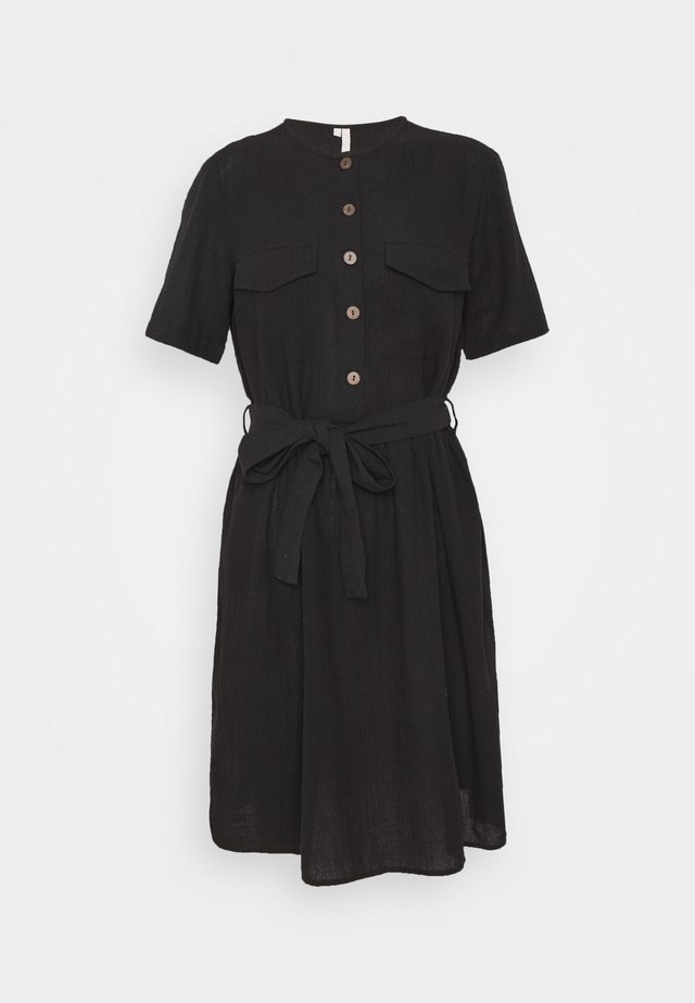 PCMINDA DRESS CAMP - Korte jurk - black