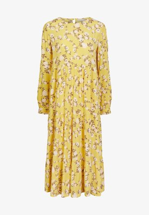 MIDIKLEID BLUMENPRINT - Day dress - ceylon yellow